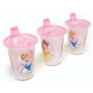 First Years Y9014 10-ounce Assorted Disney Princesses Sippy Cups (Pack of 3)