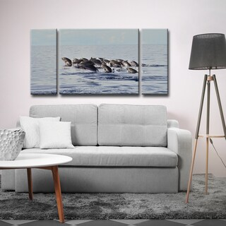 Ready2HangArt 'Free at Sea' by Christopher Doherty Canvas Art