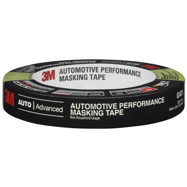 3M 03431NA 18mm X 32m Automotive Performance Masking Tape