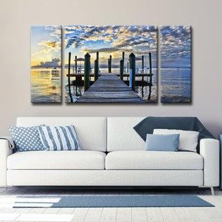 Ready2HangArt 'Pier Burst' by Christopher Doherty Canvas Art