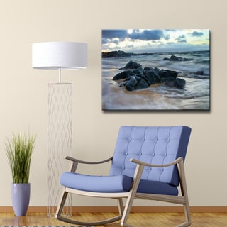 Ready2HangArt 'Blue Mist IV' by Christopher Doherty