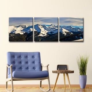 Ready2HangArt 'Icy Escape' by Christopher Doherty Canvas Art