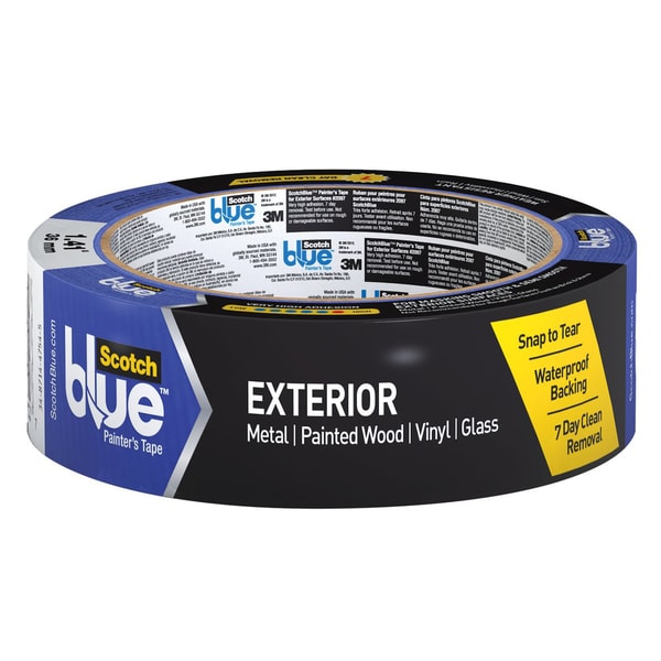 "3M 2097-36EC 1.41"" X 45 Yards ScotchBlue Exterior Paint Tape"