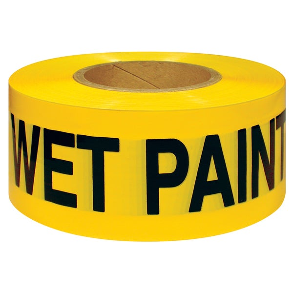 "Intertape Polymer Group 600WP-300 3"" X 300' Vinyl Wet Paint Tape"
