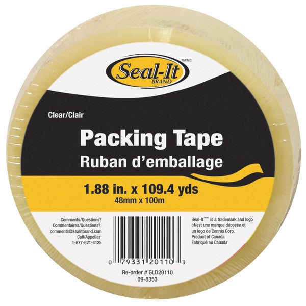 "Lepages 20110 1.88"" x 109.4 Yards Clear Packing Tape"