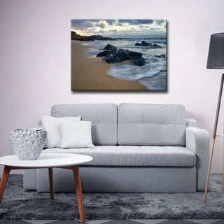 Ready2HangArt 'Blue Mist III' by Christopher Doherty Canvas Art