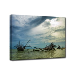 Ready2HangArt 'Blue Mist' by Christopher Doherty Canvas Art