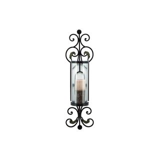 Metal Wood 14-, 16-, 19-inches High Candle Holders (Set of 3)