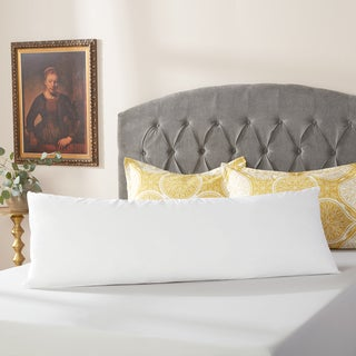 Luxury Down Alternative Body Pillow with Cotton Cover