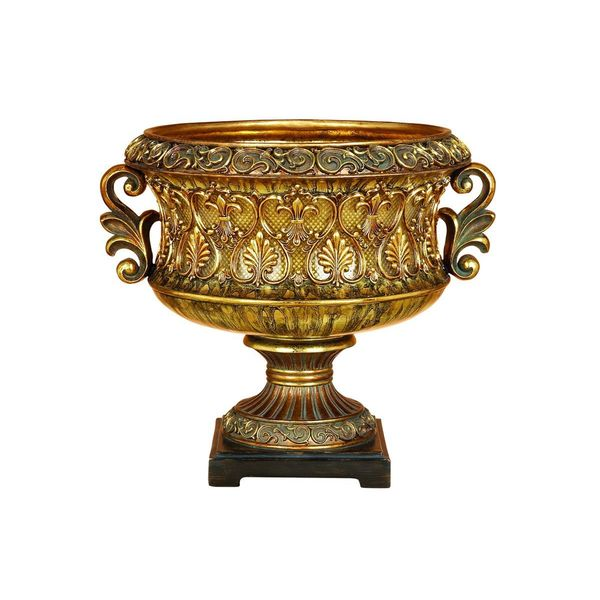 Gold Polystone Victory Bowl