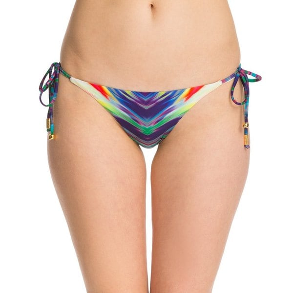 PilyQ Girl On Fire Tie Full Reversible Bikini Bottom