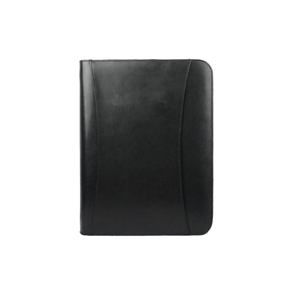 Goodhope Black Leather Tablet Padfolio