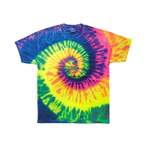 Tie-Dye Boys' Neon Rainbow Tie-Dyed T-Shirt