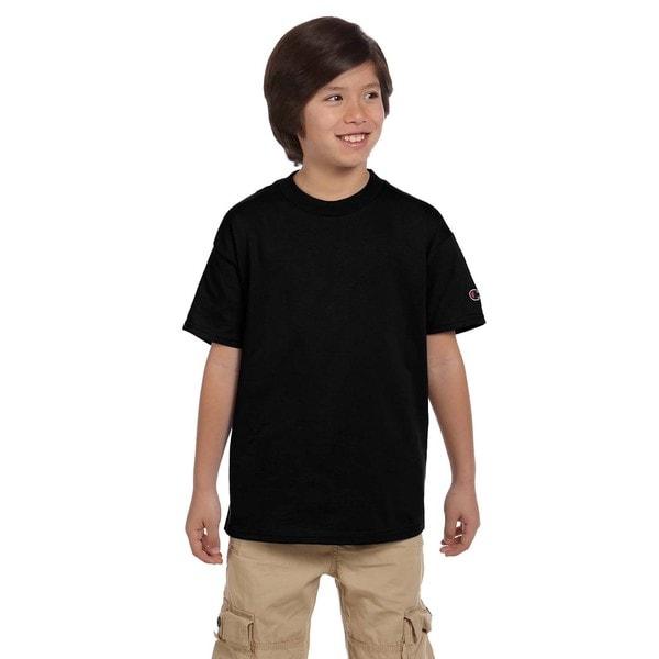 Youth Jersey Black T-shirt