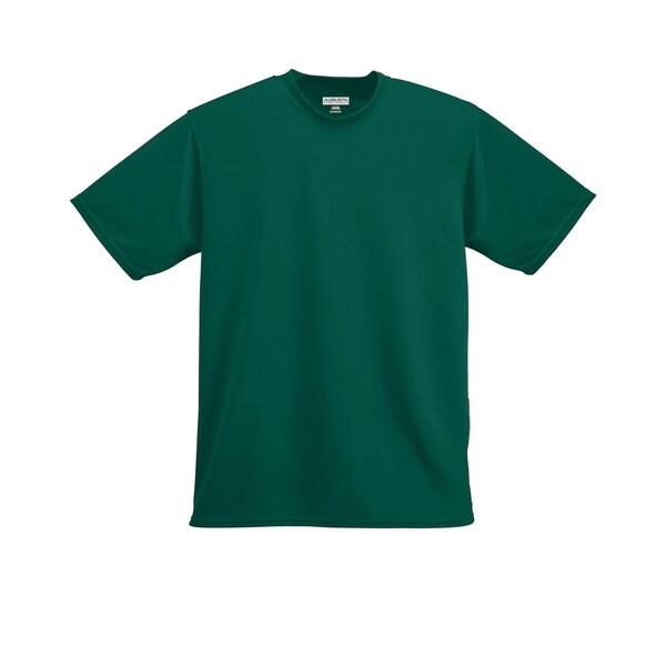 Boys' Dark Green Moisture-wicking T-shirt