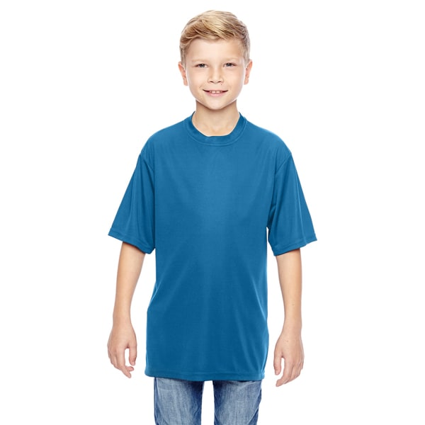 Wicking Boys' Columbia Blue T-Shirt