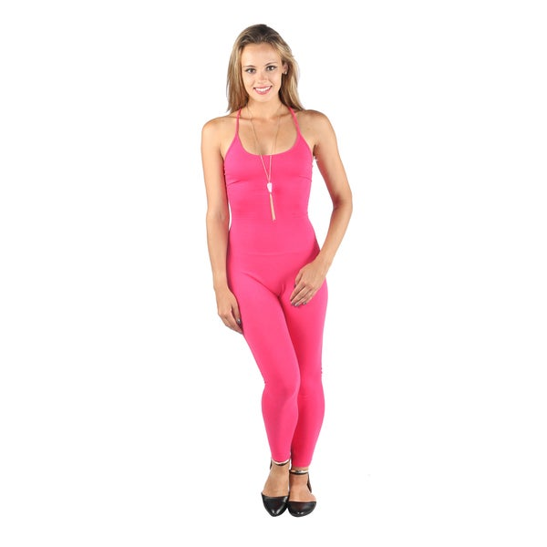 Hadari Woman's Hot Pink jumpsuit