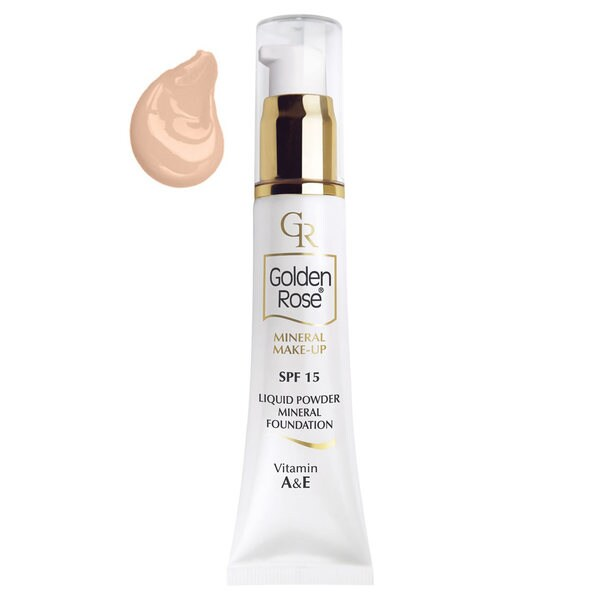Golden Rose Liquid Powder SPF15 Mineral Foundation