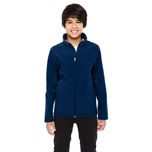 Leader Boys' Dark Navy Soft Shell Sport Jacket