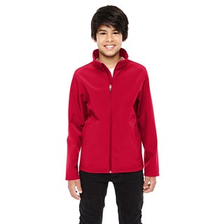 Leader Boy's Soft Shell Red Jacket