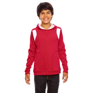 Elite Boy's Red/White Performance Sport Hoodie