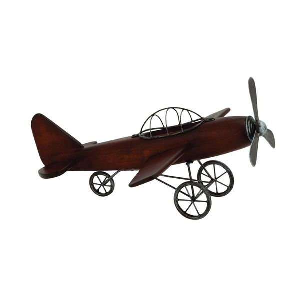 Rustic Wood and Iron Model Plane