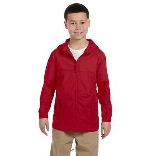 Essential Boy's Red Rainwear