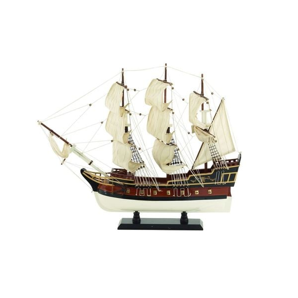 Wood Vintage Sailing Ship Model