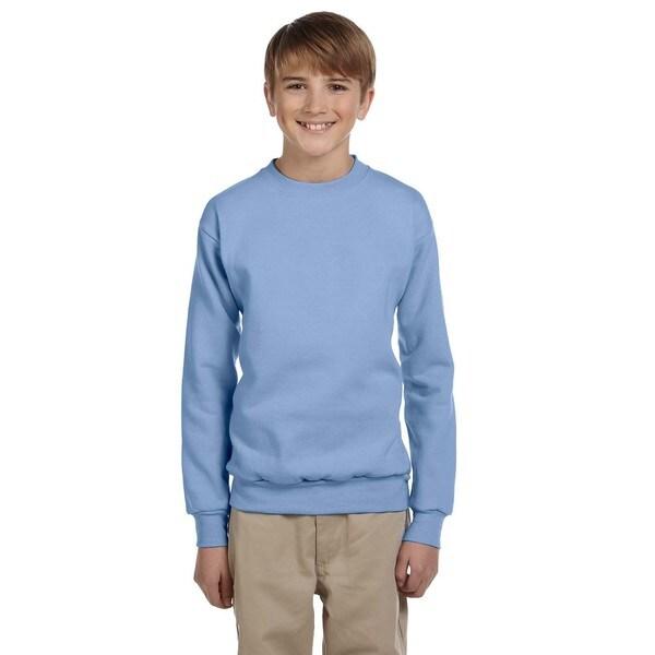 Boys Blue ComfortBlend Ecosmart Crewneck Sweatshirt