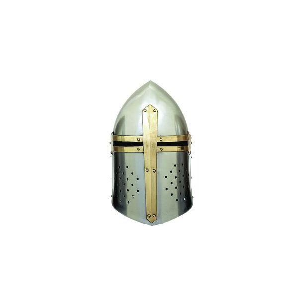 Metal Crusader Helmet