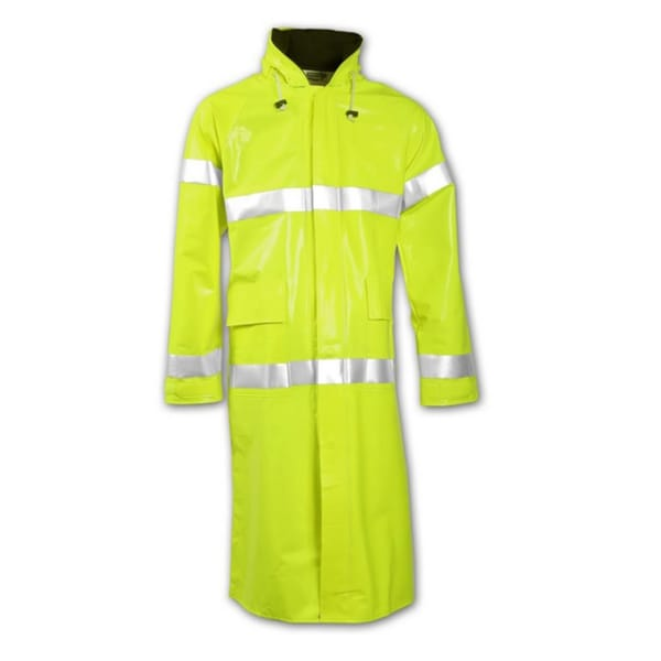 ICON C24122 12mm Yellow/ Green Thick Polyurethane/ Polyester Coat