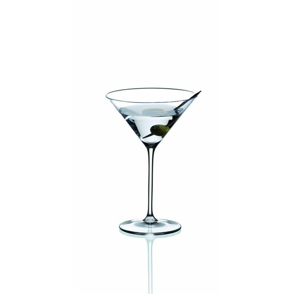 Riedel Vinum XL Leaded Crystal Martini Glasses (Set of 8)