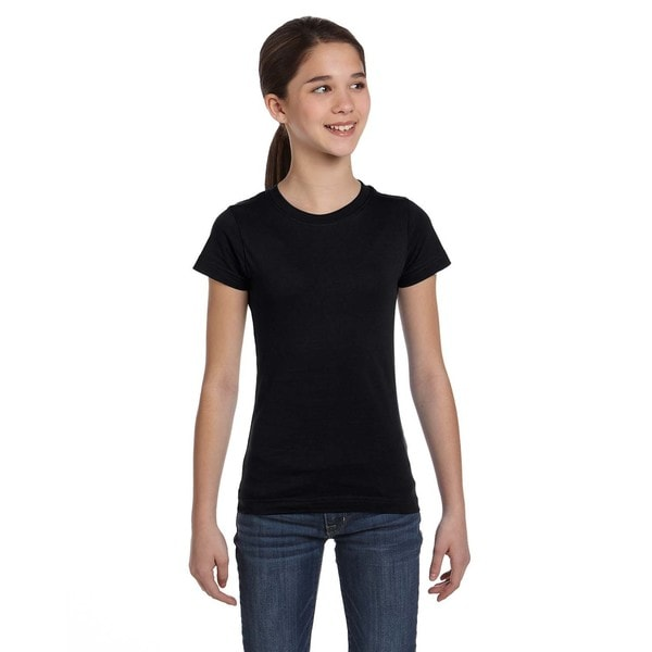Fine Girls Black Jersey T-shirt