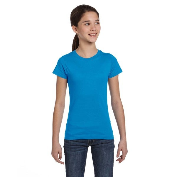 Fine Girls' Jersey Cobalt T-Shirt