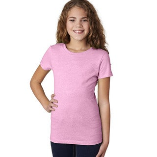 Next Level Girls' The Princess Lilac CVC T-shirt