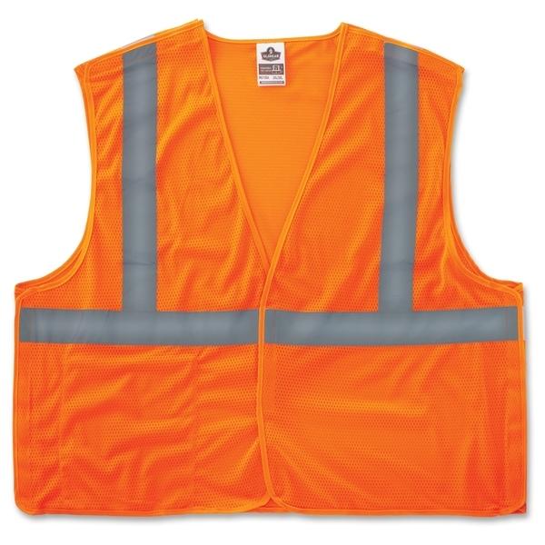 GloWear Ergodyne GloWear Orange Econo Breakaway Vest - (1 Each)