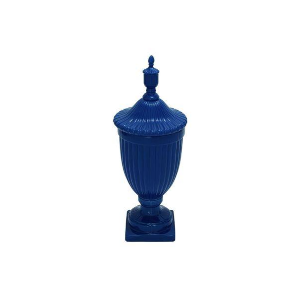 Blue Stone/Ceramic Urn