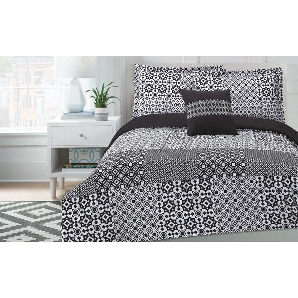 Sohu Patchwork Comforter Set