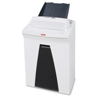 HSM SECURIO AF150 Cross-Cut Shredder with Automatic Paper Feed - White