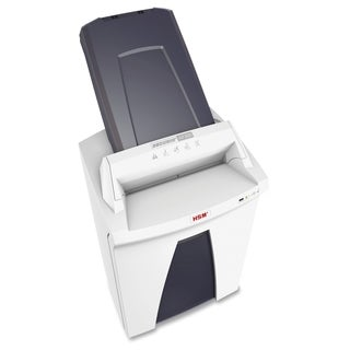 HSM SECURIO AF300 Cross-Cut Shredder with Automatic Paper Feed - White