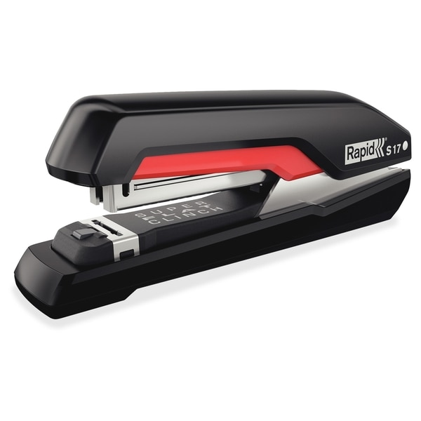 Rapid Supreme Fullstrip Stapler S17 - Black/Red