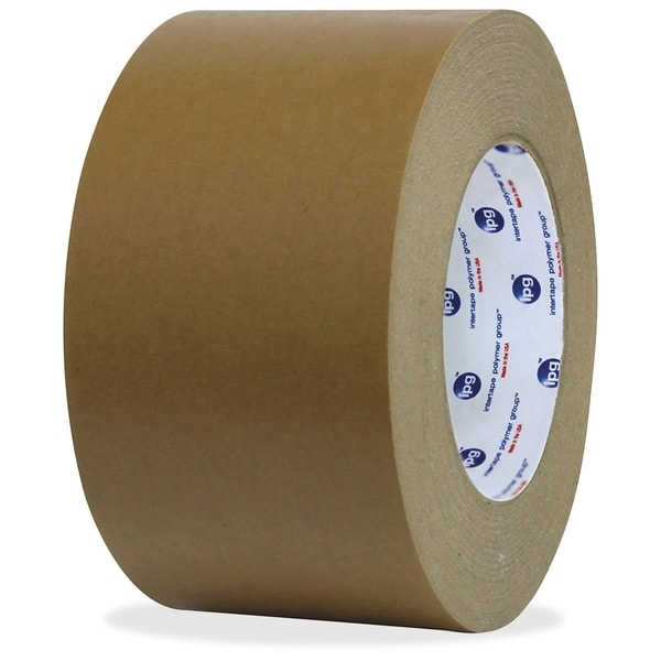 ipg Medium Grade Flatback Tape - Brown (36/Carton)