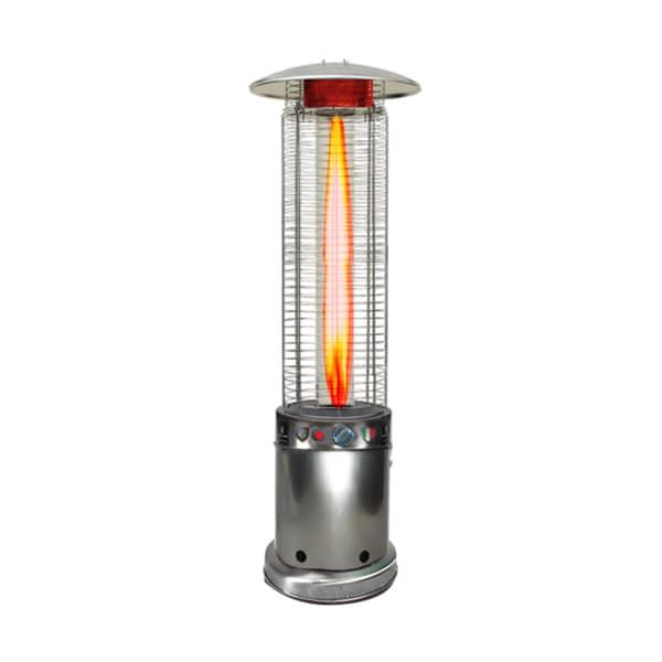 Lava Heat Italia Cylindrical 7.5-feet Commercial Propane Flame Patio Heater (Non-Remote)
