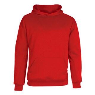 BT5 Boys' Red Performance Fleece Hooded Sweatshirt