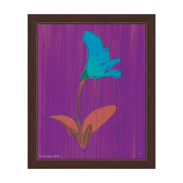 """""""Lily of Peace"""" Graphic Framed Art Print"""