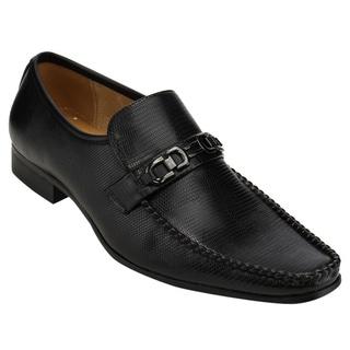 UV SIGNATURE FC83 Men's Fashion Bit Ornament Slip On Penny Loafer Shoes