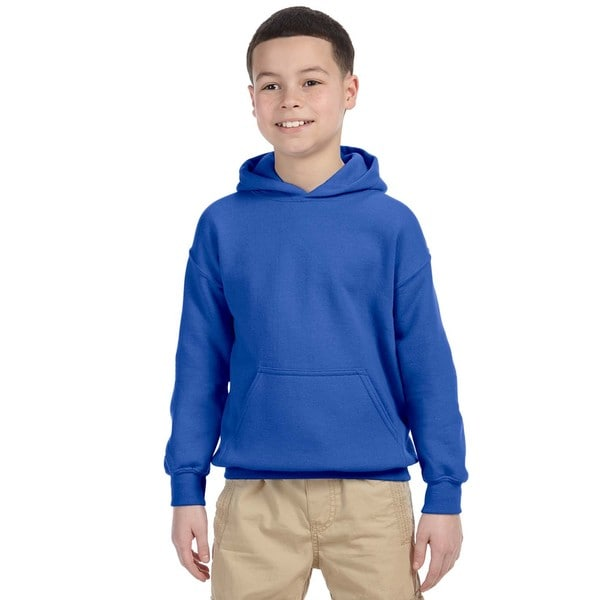 Boys Royal Heavy-blend Hooded Sweatshirt