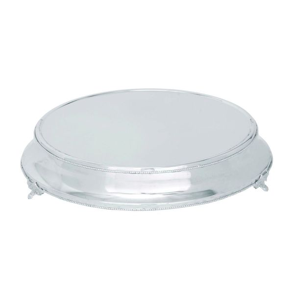Stainless Steel Cake Serving Tray