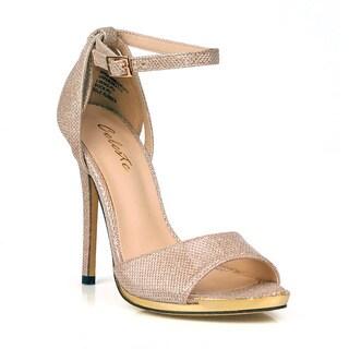 Celeste Queeny-05 D'Orsay Single Strap Women's High Heel Sandals