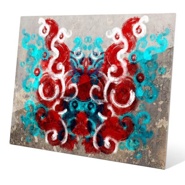 'Rorschach Moth' Graphic Print on Acrylic Wall Art